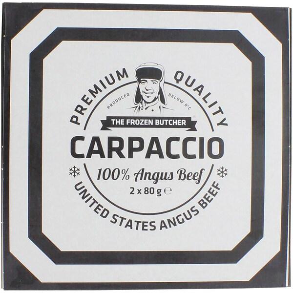 FrischeParadies Rindercarpaccio tiefgekühlt, 2 Portionen, 160g