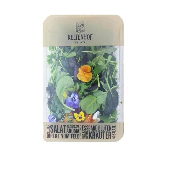 Keltenhof Wildkräutersalat in der Schale 0,25 kg