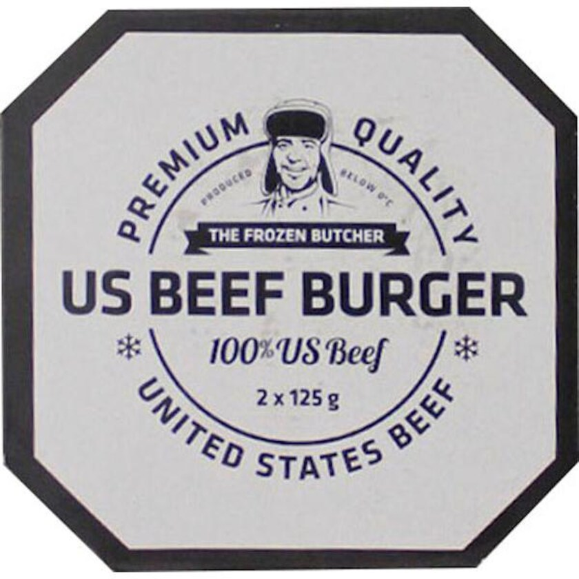 US-Beef Burger (2 Stück pro Packung) ca. 250 g