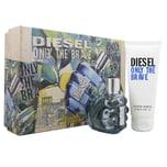 Diesel Only the Brave Eau de Toilette 50ml & Showergel 100ml