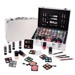 Schminkkoffer Zmile Cosmetics Set Profi Qualität 51 teilig im Alukoffer 805g