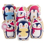 Pajoma Adventskalender Bastelset Pinguin