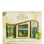 Dalan D Olive Intensiv 3er Geschenkeset Hand & Bodycreme + Hautseife