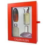 Calvin Klein Woman Miniaturen Set Obsession Eau de Parfum 15ml & Eternity for Women Eau de Parfum15 ml & Euphoria Eau de Parfum 15ml & CK One Eau de Toilette 15ml