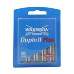 Wilkinson Sword Duplo II Plus Rasierklingen 10 Stück