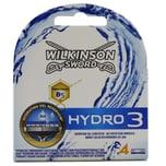 Wilkinson Sword Hydro 3 Rasierklingen 4 Stück