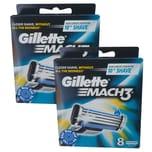 Gillette Mach3 Rasierklingen 16 Stück