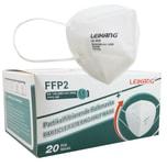 FFP2 Mundschutz EN149:2001+A1:2009 CE2163 20 Stück