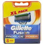 Gillette Fusion Proglide Power Rasierklingen 8 Stück