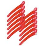 Efalock Abteilclip Combi Combi rot 12 Stück