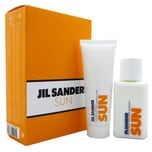 Jil Sander Sun Women Set Eau de Toilette 75ml & Duschgel 75ml