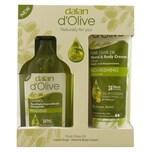 Dalan D Olive 2er Set Pflegende Flüssigseife + Hand & Bodycreme