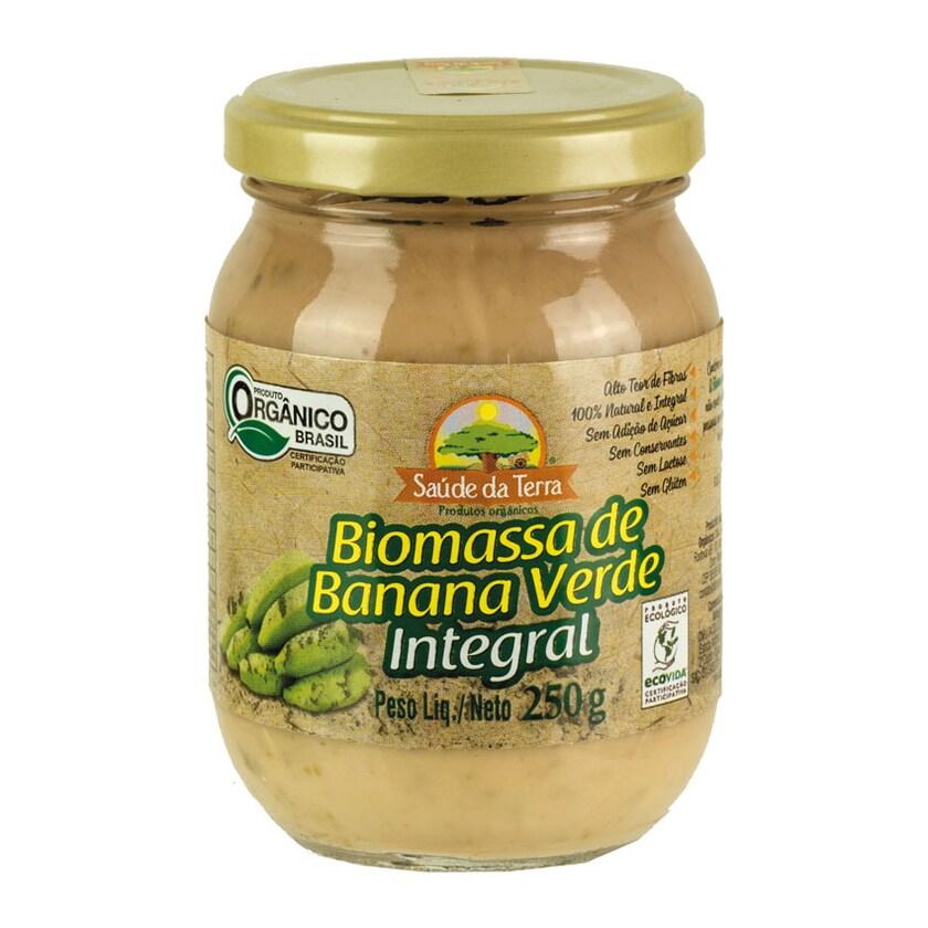 Dacolonia Grüne Bananen-Biomasse Biomassa De Banana Verde Integral 250g