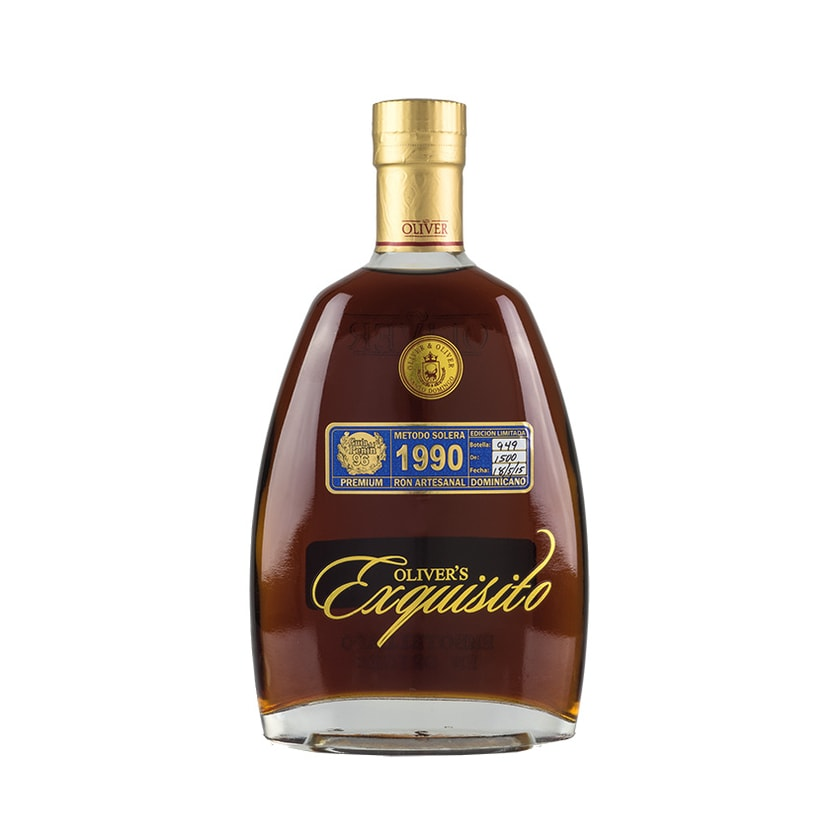 Exquisito Rum Ron 1990, 15+ Años Solera 40% vol. 700ml
