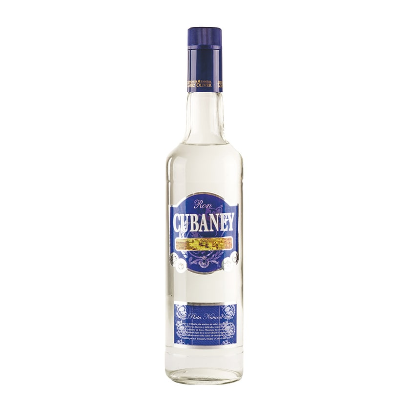 Cubaney Rum Ron Plata 38% vol. 700ml
