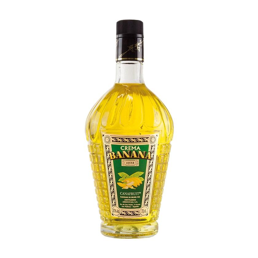 Arehucas Crema Banana Canafruit Likör 20% vol. 700ml