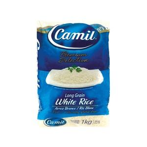 Camil Weisser Reis Arroz Branco Camil 1 kg
