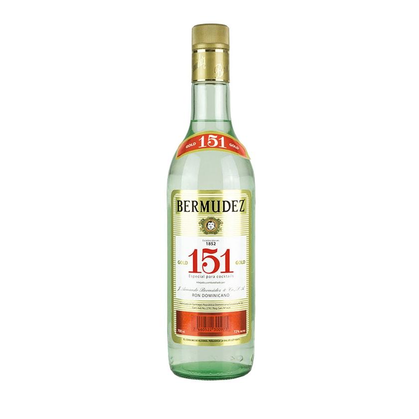 Bermudez Rum Ron 151 72% vol. 700ml
