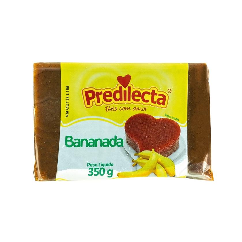 Predilecta Bananen-Dessert Bananada Pack 350g
