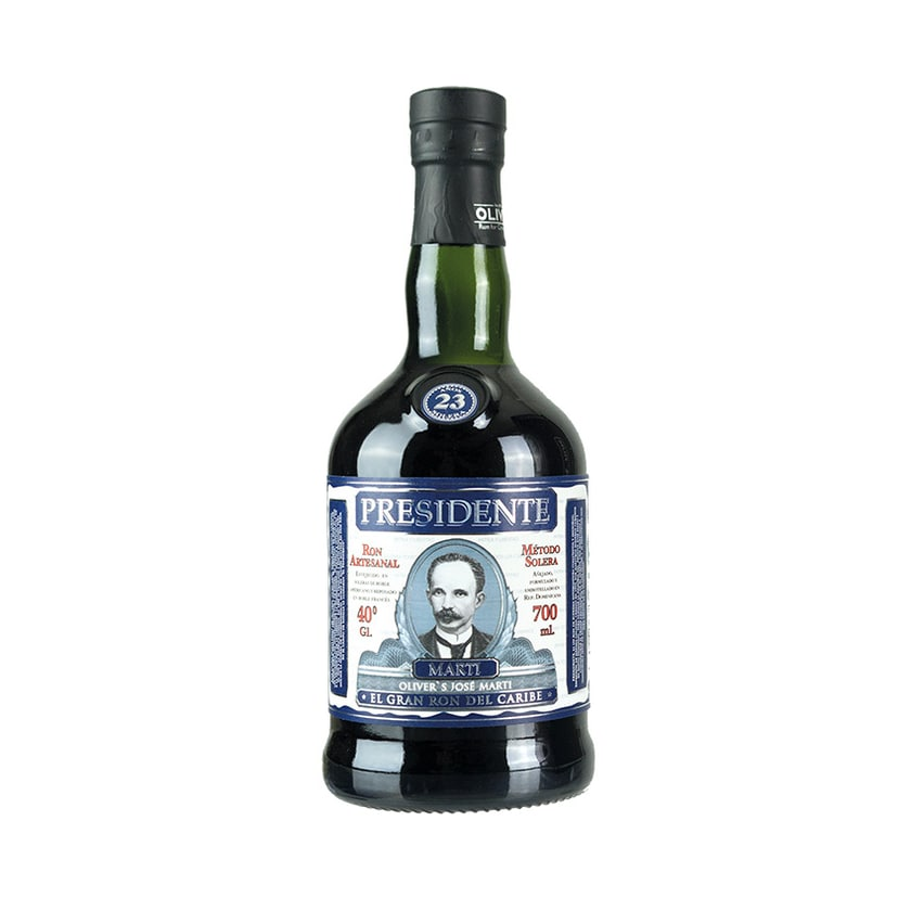 Presidente Marti Rum Ron 23 Años Solera 40% vol. 700ml