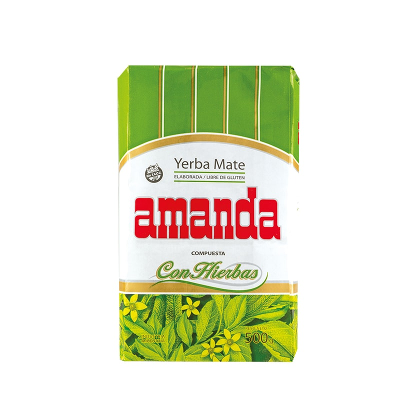 Amanda Mate Tee Yerba Mate Compuesta Con Hierbas 500g