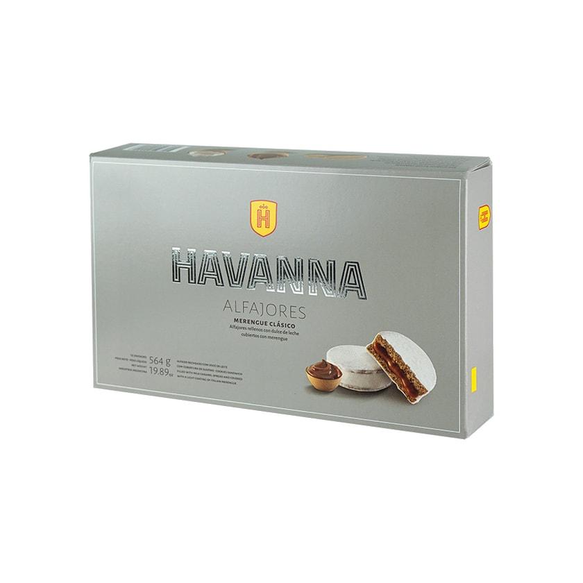 Havanna Schokoladen Bisquits Alfajores Merengue 12er-Pack 564g