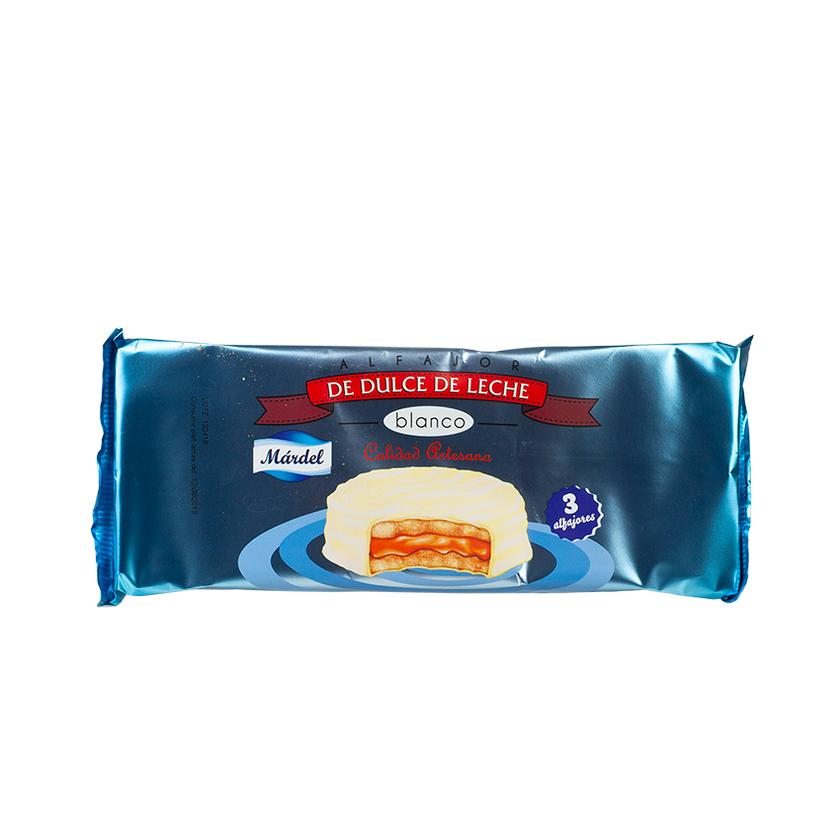 Mardel Milch Karamell Biscuit Alfajor De Dulce De Leche Blanco 150g