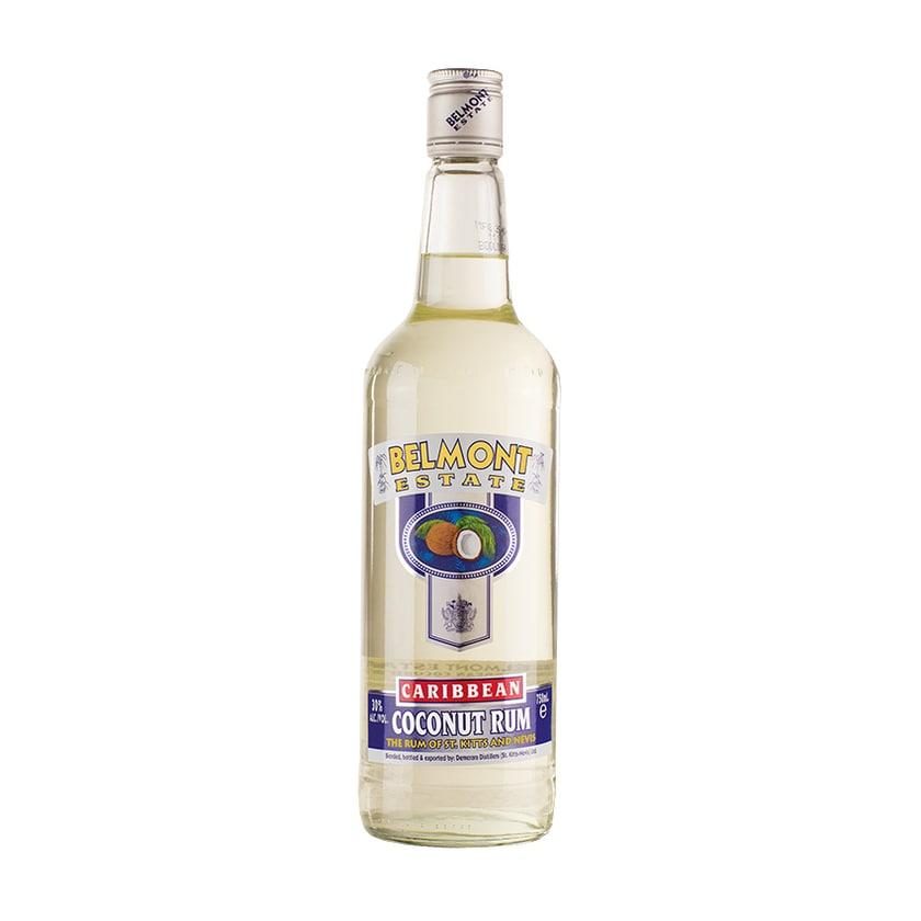 Belmont Estate Kokoslikör Caribbean Coconut Rum 30% vol. 700ml
