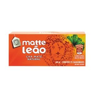 Leão Matte Mate Tee Chá Mate Natural 40g