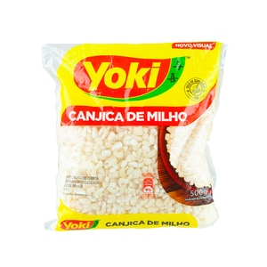 Yoki Geschälter weisser Mais Canjica Branca 500g