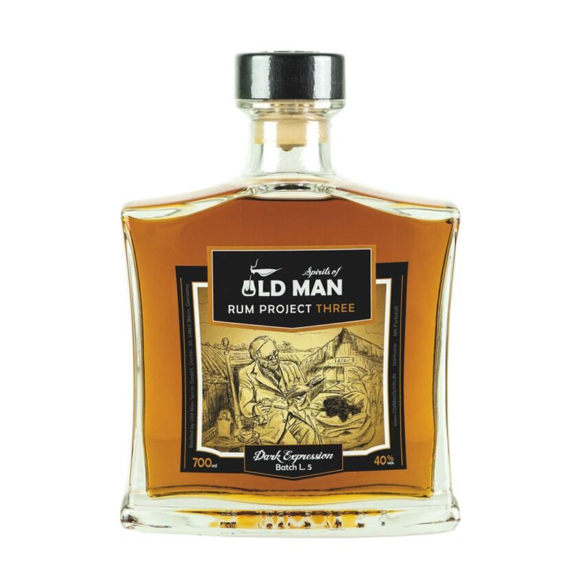 Old Man Rum Project Three Spirit Of Dark Exp 40% vol. 700ml