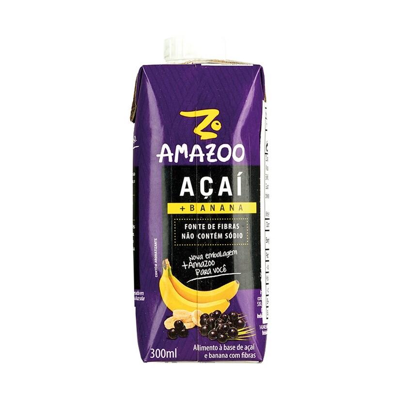 Amazoo Açaí + Banana 300ml