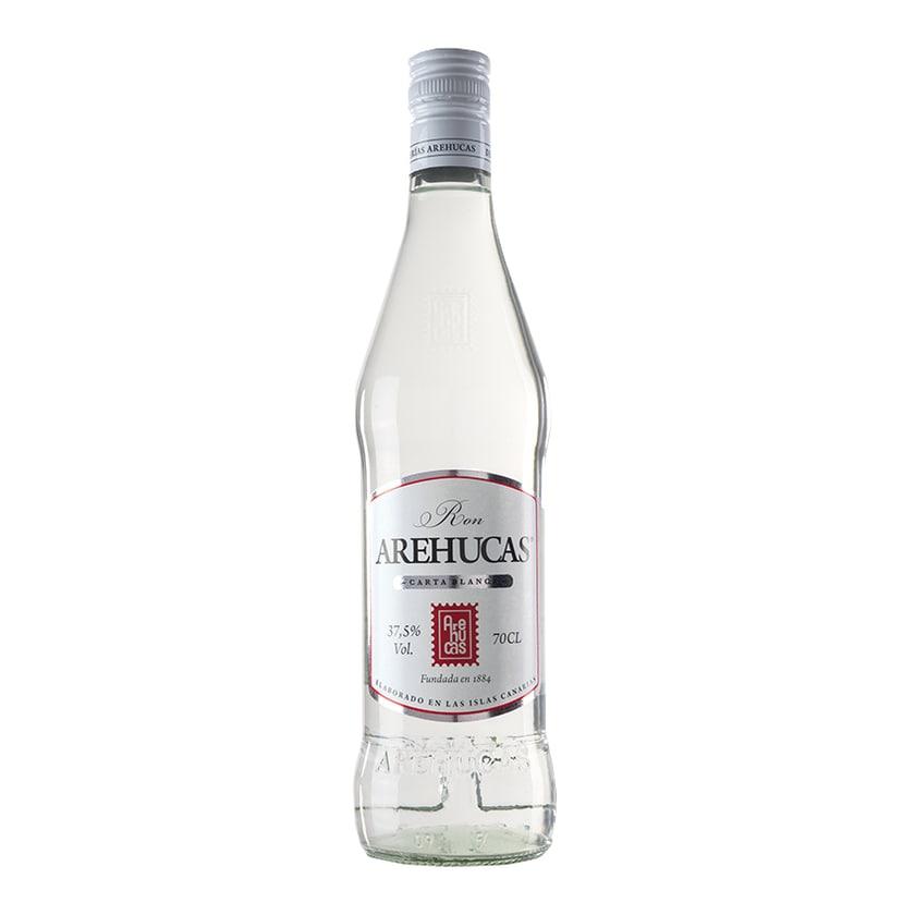 Arehucas Rum Ron Carta Blanca 37,5% vol. 700ml
