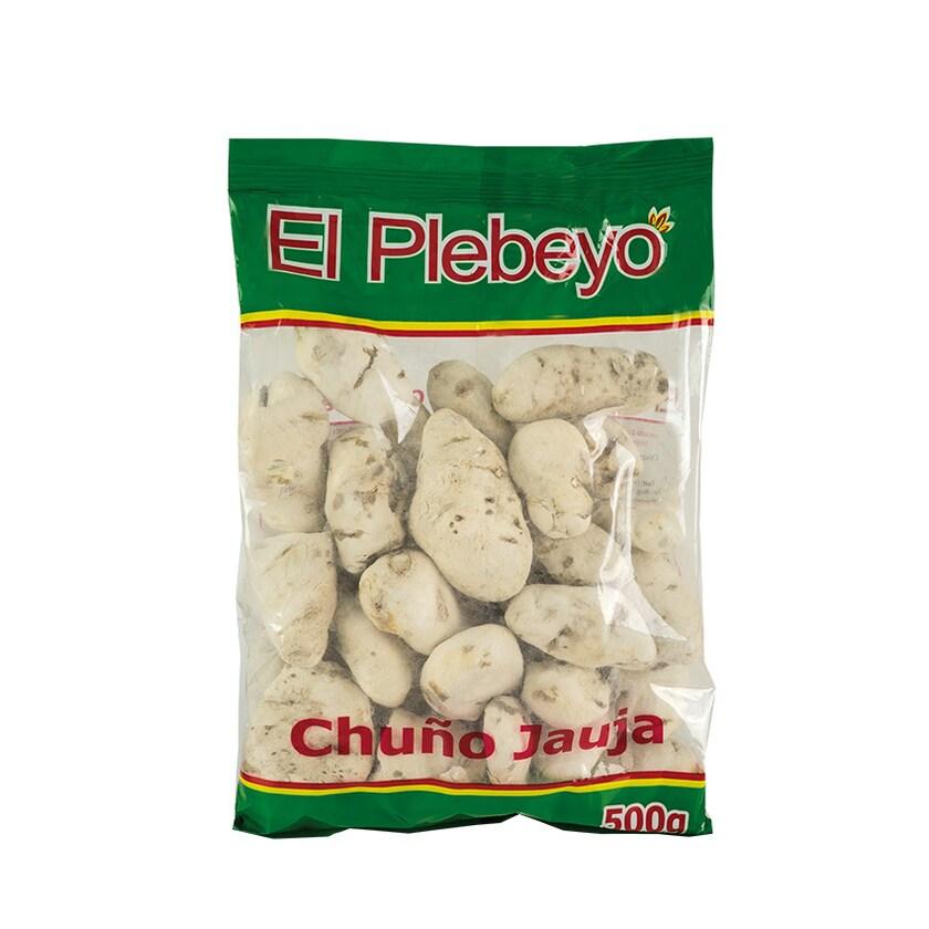 El Plebeyo Weisse getrocknete Kartoffeln Chuño Blanco Jauja 500g