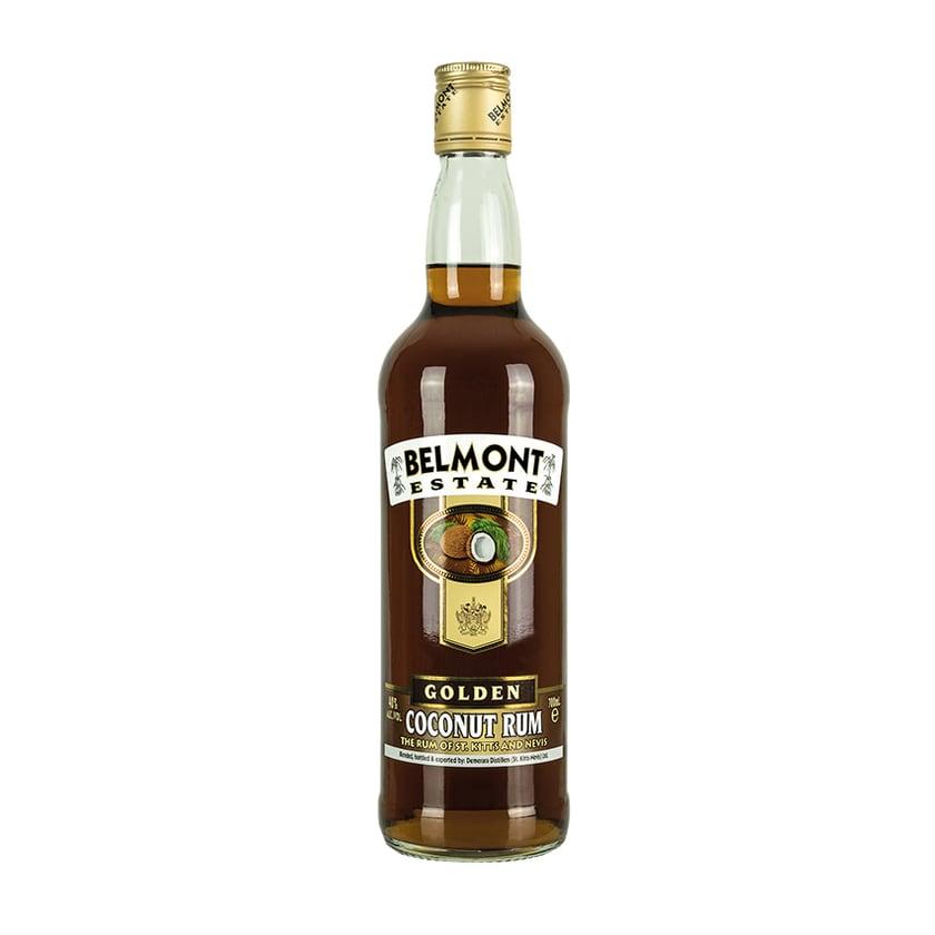 Belmont Estate Kokoslikör Golden Coconut Rum 40% vol. 700 ml