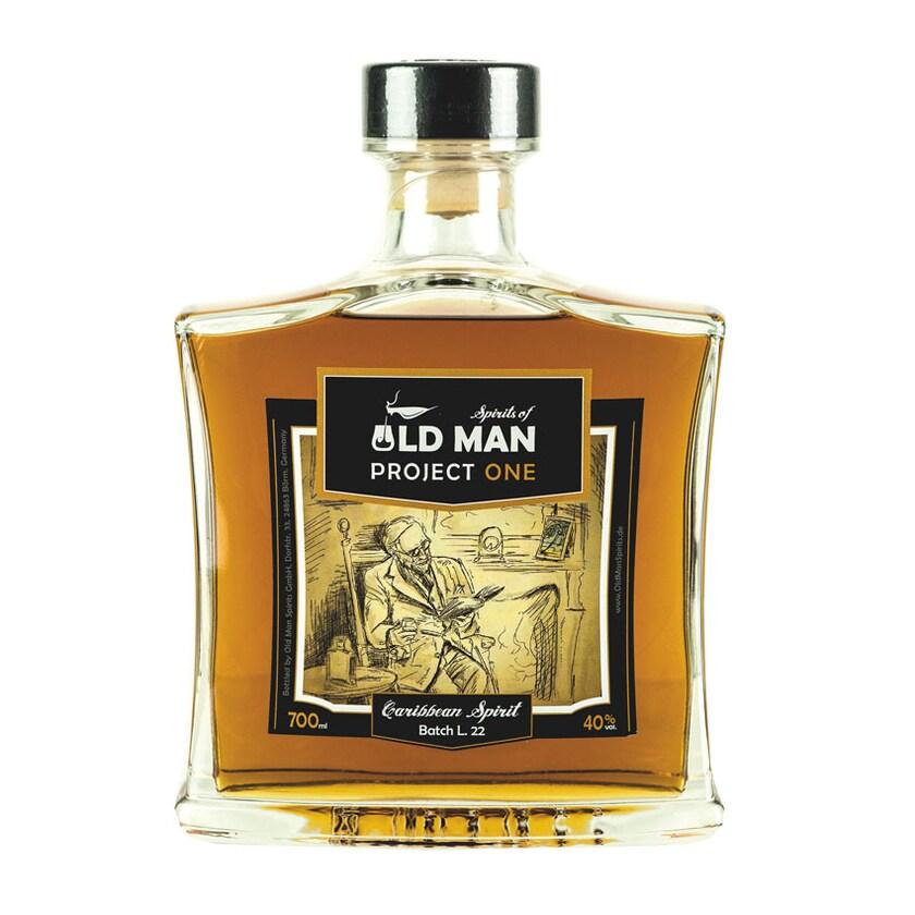 Old Man Rum Project Onespirit Of Caribbean 40% vol. 700ml