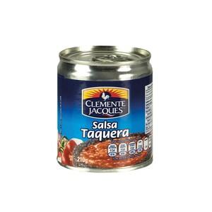 Clemente Jacques Scharfe Gewürzsoße Salsa Taquera 210g
