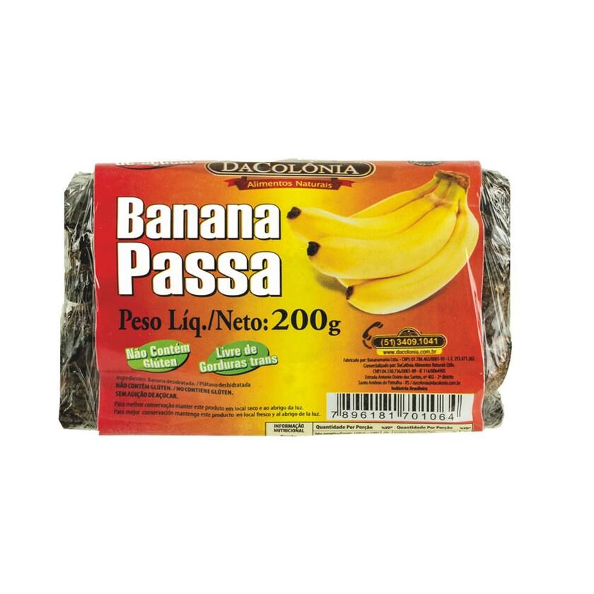 Dacolonia Bananenriegel Banana Passa 200g