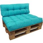 Diluma Palettenkissen Set Comfort Türkis