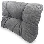 Diluma Lounge Rückenkissen Comfort 60x40 cm in Grau