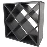 Diluma Weinregal Bacchus XX-Cube 52x52x25 cm anthraz.