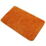 Diluma Badematte 60x90 cm Orange rutschfester Duschvorleger