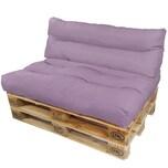 Diluma Palettenkissen Lounge Summer 2 teilig in Lavendel