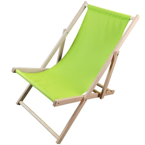 Diluma Liegestuhl Sunny Strandliege aus Holz
