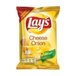 Lay's Chips Cheese & Onion 80 x 27,5g