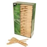 Papstar 1000 Rührstäbchen, Holz pure 13 cm