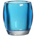 Bolsius Teelichthalter Oval aqua