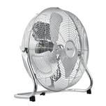 in.tec Bodenventilator Airspeed Windmaschine Tischventilator Ventilator Metall 70 W Silber