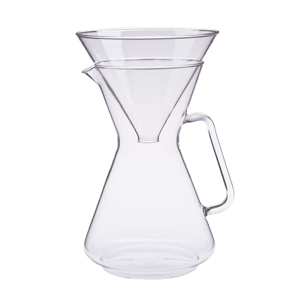 Trendglas Kaffeebereiter Brasil mit Glasfilter, 1 l
