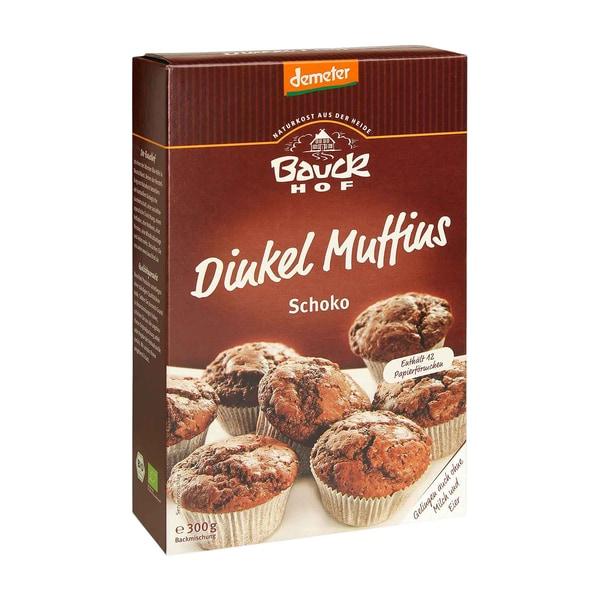 Bauckhof Bio Backmischung für Dinkel-Schoko-Muffins 300g